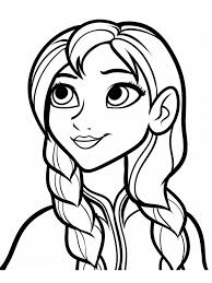 Free Frozen Coloring Pages Photo 25