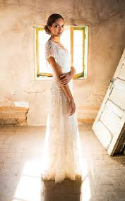 Simple Wedding Dress Backyard Rustic Casual Vintage With Sleeves