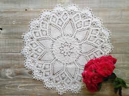 Patio Tuerca Panama Repuestos by Doily Lace Wedding Rustic Doily Wedding Table Doily Crochet
