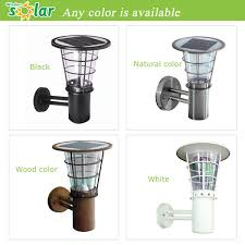 best solar wall lights for garden classic outdoor wall security