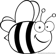 Draw Bee Coloring Page 29 For Your Free Kids With