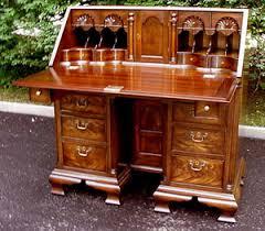 Maitland Smith Secretary Desk by Benjamin Franklin Desk By Kittinger Furniture Company Future