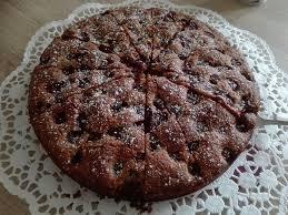 glutenfreier kirsch nuss kuchen