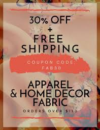 Fashion Fabrics Club: One Day Only! Get 30% Off + Free ... Fabric Sale Fabricland Coupon Canada Barilla Pasta Printable Coupons Joann Fabric Code 50 Off Zulily July 2018 10 Best Joann Coupons Promo Codes 20 Off Sep 2019 Honey Ads And Indie Fabric Shop Roundup Coupon Chalk Notch Find Great Deals On Designer To Use Code The Big List Of Cadian Online Shops Finished Fabriccom How Order Free Swatches At Barnetthedercom