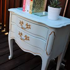 Raymour And Flanigan Dresser Drawer Removal by French Provincial End Table Makeover U2014 Weekend Craft