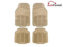 Porsche Cayenne Floor Mats by Autofurnish Car Foot Mats Beige Set Of 4 For Porsche Cayenne S