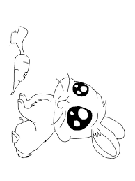 Anime Animals Coloring Pages 11