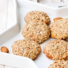 gesunde kekse mit mandeln und vollkornmehl