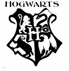 Word Wall Clip Art Unique Harry Potter Hogwarts Coat Of Arms Cut Vinyl Sticker