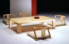 Japanese Low Table Dimensions Ideal Dining Room Furniture For A Minimalist Style Traditional