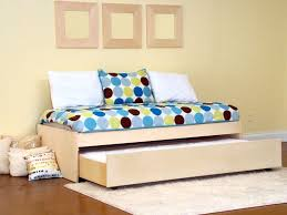 Twin Trundle Bed — Modern Storage Twin Bed Design