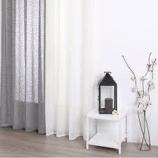 ebern designs gardine jodi mit ösen 1 stück transparent