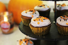 Types Of Pumpkins For Baking by Zoella Pumpkin Spiced Cupcakes With Cinnamon Cream Cheese Frosting