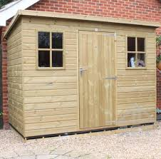 6 X 5 Apex Shed by Pressure Treated Wooden Garden Sheds Ace Sheds