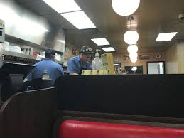 Waffle House The Cook And Bus Boy From My Seat