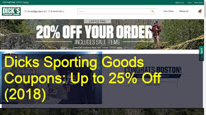 Dicks Sporting Goods Coupons: Up To 25% Off (2019) - YouTube How To Use A Dicks Sporting Goods Promo Code Print Dicks Coupons Coupon Codes Blog 31 Hacks Thatll Shock You The Krazy Coupons Express And Printable In Store 20 Off Weekly Ads 20 Much Save With Shopping Deals Promotions Goleta Valley South Little League Official Retail Sponsor Of The World Series