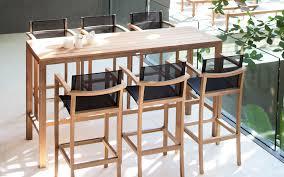 table haute cuisine awesome table haute de jardin en bois photos amazing house