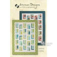 Urban Cabin Quilt Pattern Atkinson Designs — Missouri Star Quilt Co