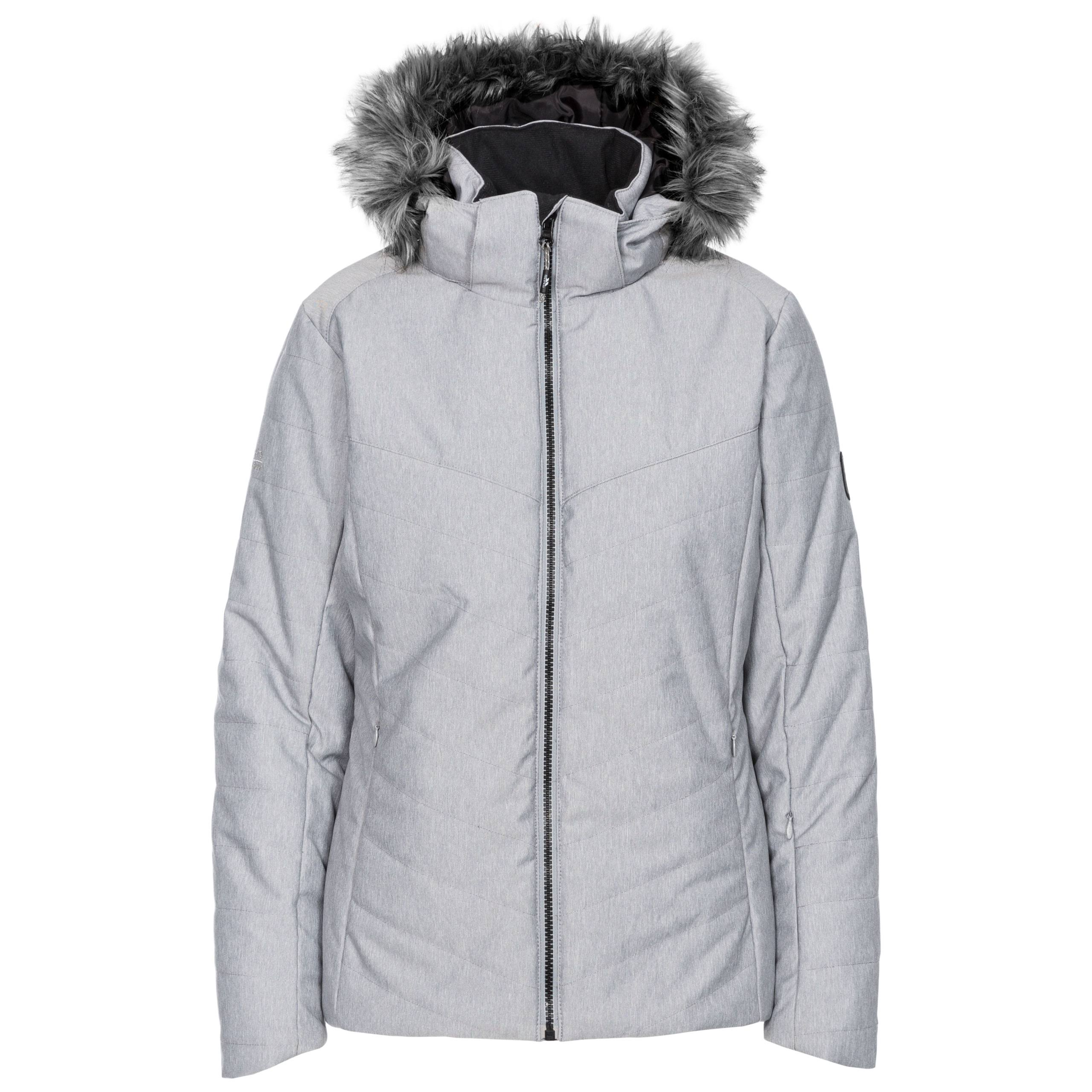 Womens Trespass Wisdom Ski Jacket - Grey