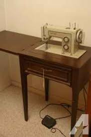 sears kenmore zig zag sewing machine in cabinet for sale in
