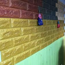 And Stick Wallpaper 3d Foam Sqft Peel D Wall Panels White Brick Home