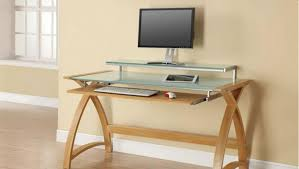 Staples Tempered Glass Computer Desk by Awe Inspiring Images Writing Desk Furniture Inside Wood Writing