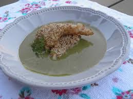 cuisiner l oseille plat de poisson ou entrée tacaud en croûte de sésame et velouté