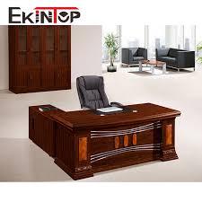 table de bureau ronde bord mdf papier 1 6 m bureau bureau patron table en bois table