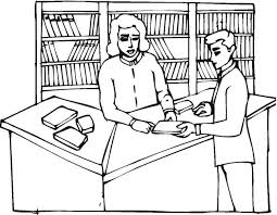 Inspirational Library Coloring Pages 94 For Line Drawings With