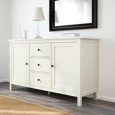 hemnes buffet teinté blanc 157x88 cm matériau durable ikea