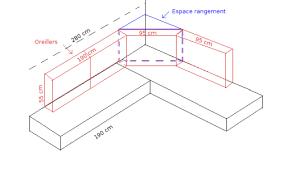 comment faire un canapé en canapé lit d angle fait maison le de fips com