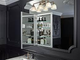 Kohler Verdera Recessed Medicine Cabinet by K 99002 Verdera Medicine Cabinet With Mirrored Door Kohler