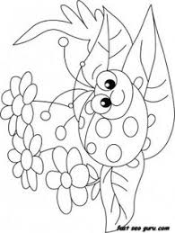New Picture Ladybug Coloring Book
