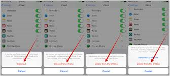 How to Delete iCloud Account on iPhone in iOS 9 iMobie Inc