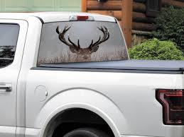 Product: Deer Head In Winter Nature Rear Window Decal Sticker Pick ... Huge Soaring Bald Eagle Rear Window Decal Decals Sticker 6eagle Car Window Graphics Allen Signs Skulls Truck Rear Decal Xtreme Digital Graphix Pickup Decals American Flag Eagle Pickup Graphic Dodge Ram For Sale Bahuma Sticker Best In Calgary For Trucks Cars Realtree Camo 657332 Thin Blue Line Police Support American Flag Logos Bds Suspension Vehicle Vinyl Amazoncom Amer In God We Trust 17 Inches By 56