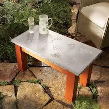 DIY Concrete Hearth Made By Deborah
