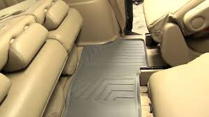 Honda Odyssey All Weather Floor Mats 2016 by Review Of The Weathertech Third Row Floor Liner On A 2007 Honda