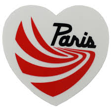 100 Paris Truck Co Sticker 25 X 225