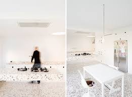 Terrazzo Kitchen Floors And Counter House Deurne By MADE Architects Olmo Peeters Also Shown In Opening Photo Below