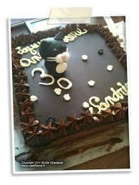 decoration patisserie en chocolat gâteau d anniversaire brownie aux noisettes pépites de chocolat et