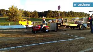 Barnesville Pumpkin Festival Times by Garden Tractor Pulling Centre Hall Pa 9 24 16 Youtube