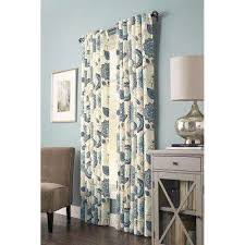 Allen Roth Curtains Alison Stripe by Curtains U0026 Drapes Window Treatments The Home Depot