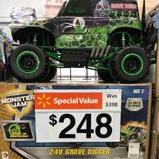 Just Reduced! Grave Digger Power Wheel... - Walmart Vineland | Facebook Grave Digger Truck Wikiwand Hot Wheels Monster Jam Vehicle Quad 12volt Ax90055 Axial 110 Smt10 Electric 4wd Rc 15 Trucks We Wish Were Street Legal Hotcars Ride Along With Performance Video Truck Trend New Bright 18 Scale 4x4 Radio Control Monster Wallpapers Wallpaper Cave Power Softer Spring Upgrade Youtube For 125000 You Can Buy Your Kid A Miniature Speed On The Rideon Toy 7 Huge Monster Jam Grave Digger Hot Wheels Truck