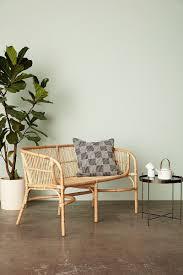 nature rattan sofa bench woo design dansk design