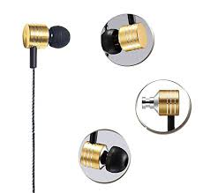 Headphones In Ear earbuds with Mic Stereo & Volume Control Noise