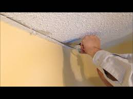 Patching Popcorn Ceiling Paint by How To Repair A Stucco Ceiling And Re Attach Drywall Tape To