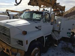 100 Bucket Trucks For Sale In Pa 1992 D F900 Boom Truck Salt Lake City UT