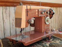 Vintage Kenmore Sewing Machine In Cabinet by 139 Best Sewing Machines Mainly Vintage Images On Pinterest