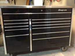 100 Snap On Truck Tool Box Black On Tool Box With Stainless Steel Top For Sale Non
