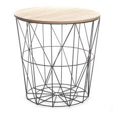 table d appoint pour canapé table d appoint design kumi 41cm noir
